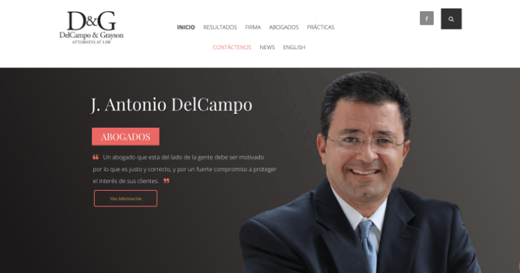 DelCampo & Grayson Diseño de Website